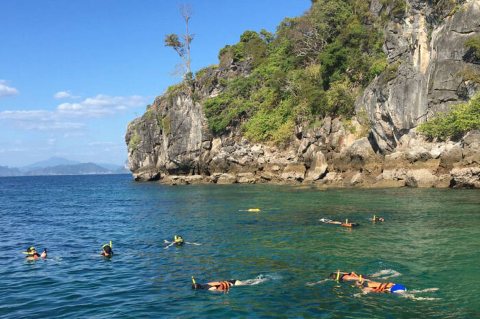 Krabi 4 Islands and Yawasam Island Snorkeling Tour