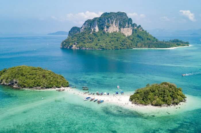 Krabi 5 Island+Talu Cave Snorkeling Tour