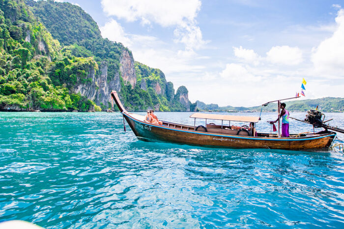 Phi Phi Island Half Day Tour By Longtail Boat From Phi Phi
