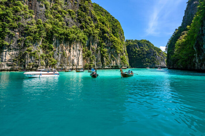 Phi Phi Island Half Day Tour From Phi Phi by Big Boat