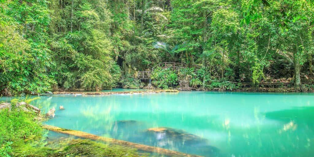many best places in krabi, emerald pool krabi, hot spring waterfall krabi, nong thale krabi, tiger cave temple krabi, phi hua to cave krabi, khao karos krabi many best places in krabi Many best places in Krabi are not only the sea Than Bok Khorani Waterfall 1024x512