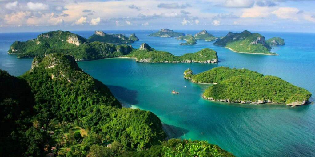 the most beautiful islands in thailand the most beautiful islands in thailand The most beautiful islands in Thailand and worthwhile to visit 09 Ang Thong Islands Mu Koh Ang Thong 1024x512