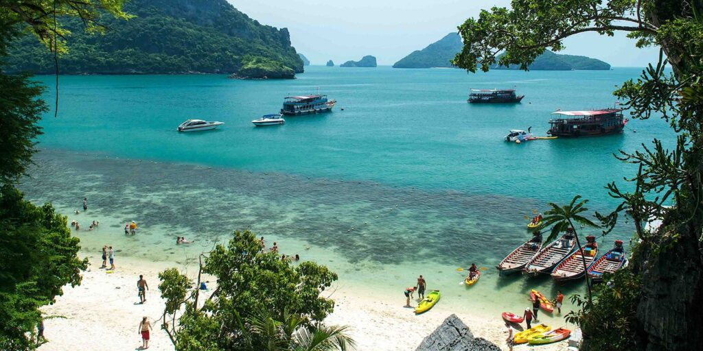 ang thong national marine park, tour from koh samui ang thong national marine park Ang Thong National Marine Park Tour From Koh Samui By Speedboat Ang Thong National Marine Park Tour Fr 1024x512