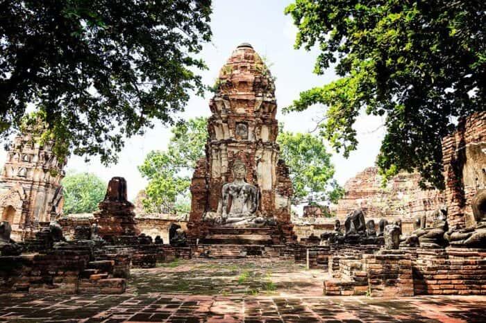 Ayutthaya 5 Temples UNESCO World Heritage Site Tour From Bangkok