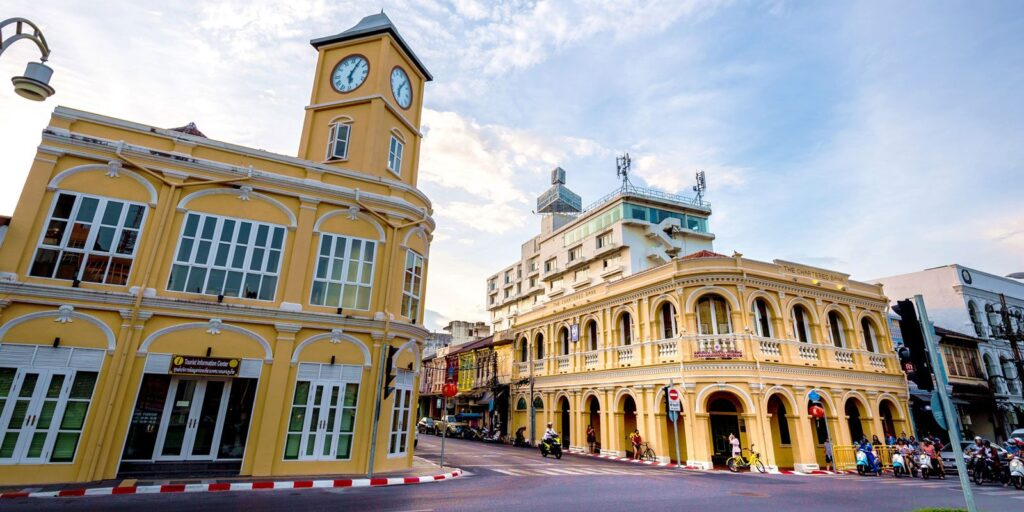 the famous places in phuket the famous places in phuket The famous places in Phuket must visit and should come to travel once Phuket Old Town Sino Portuguese Sino Portuguese 1024x512