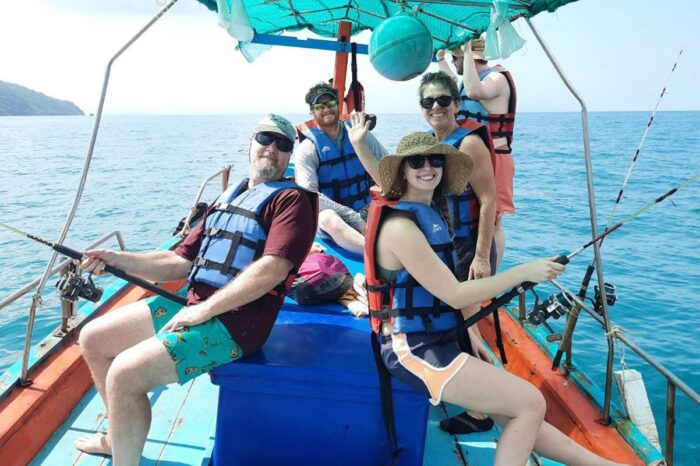 Private Fishing Tour Koh Lanta By Longtail Boat