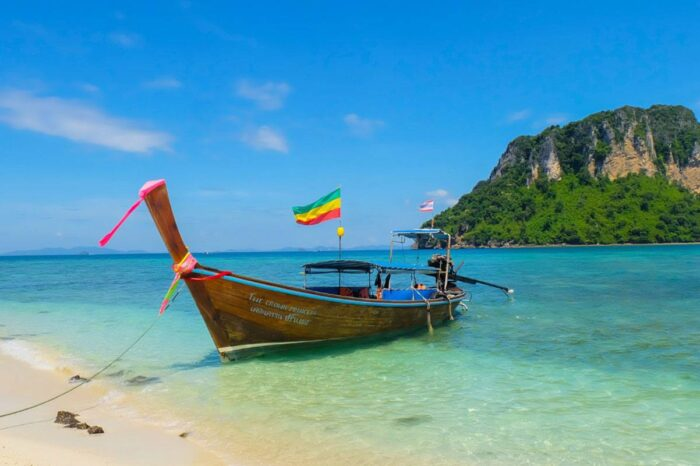 Private Longtail Boat Charter Tour To Krabi 4 Islands