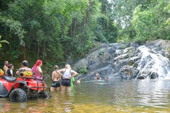 ATV Phuket 3 Hours Riding and 5km White Water Rafting in Phang Nga