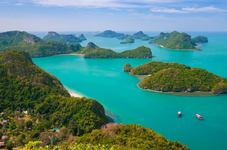 Surat Thani, the charming city of hundred islands