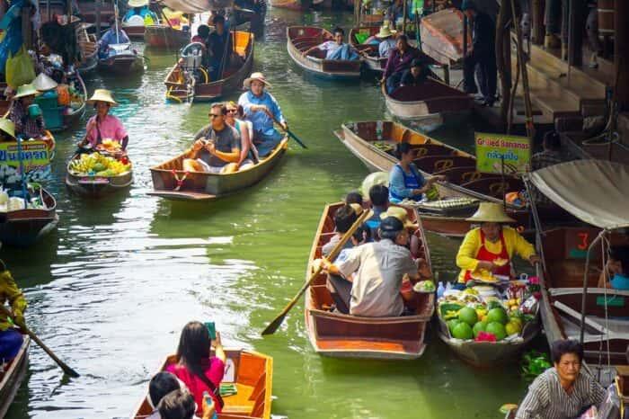 Floating Market Halfday Tour At Damnoen Saduak From Bangkok