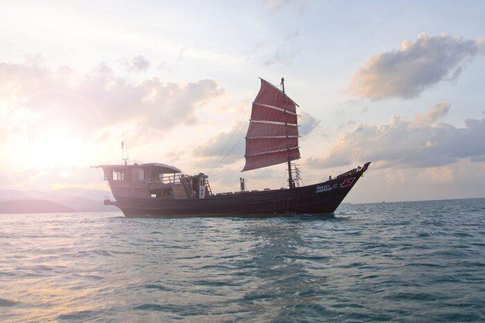 Chantara Junk Boat Day Tour Around Koh Phangan From Koh Samui