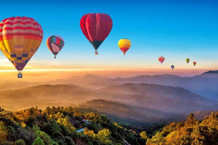 Hot Air Balloon Adventure At Sunrise in Chiang Mai