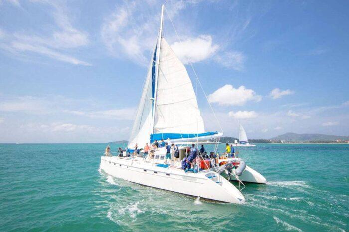 Koh Lon And Koh Maiton Cruise Tour By Sailing Boat From Phuket