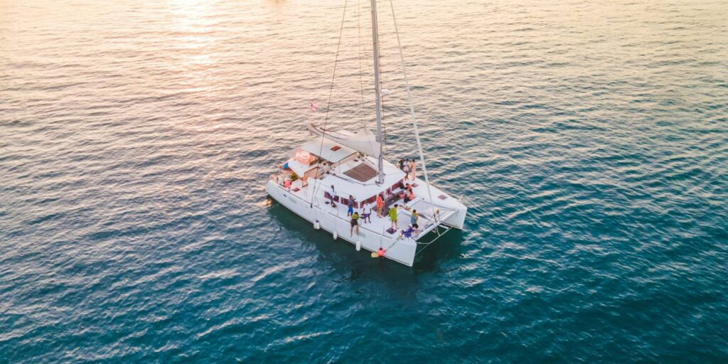 sunset cruise Sunset Cruise to Koh Hey (Coral Island) in Phuket by Sailing Catamaran Sunset Cruise to Koh Hey Coral Island in Phuket by Sailing Catamaran 1024x512