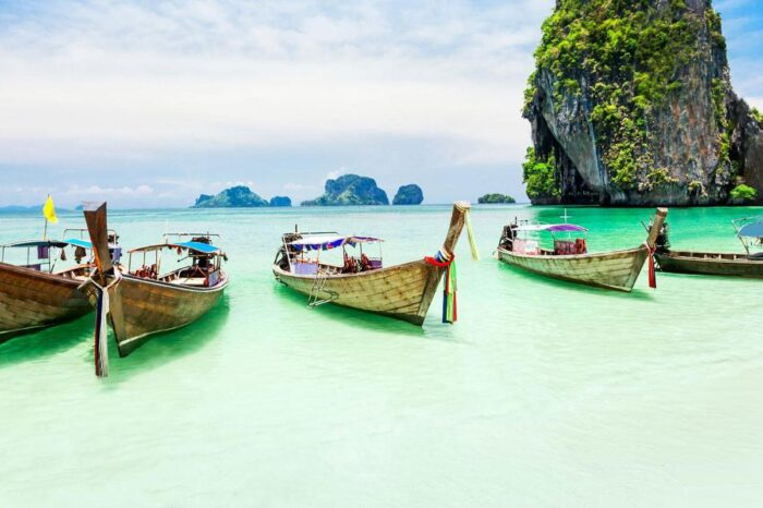Private Tour Of Hong Island By Longtail Boat From Krabi
