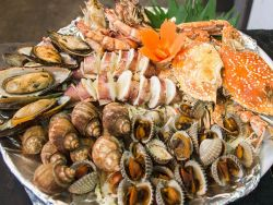 Sunset Dinner Seafood krabi 4 island sunset Krabi 4 Island Sunset Dinner Seafood