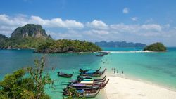 Krabi 5 islands, Krabi Talu Cave krabi 5 islands Krabi 5 Islands+Talu Cave Snorkeling Tour by Longtail Boat